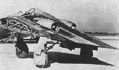 Horten with wings removed