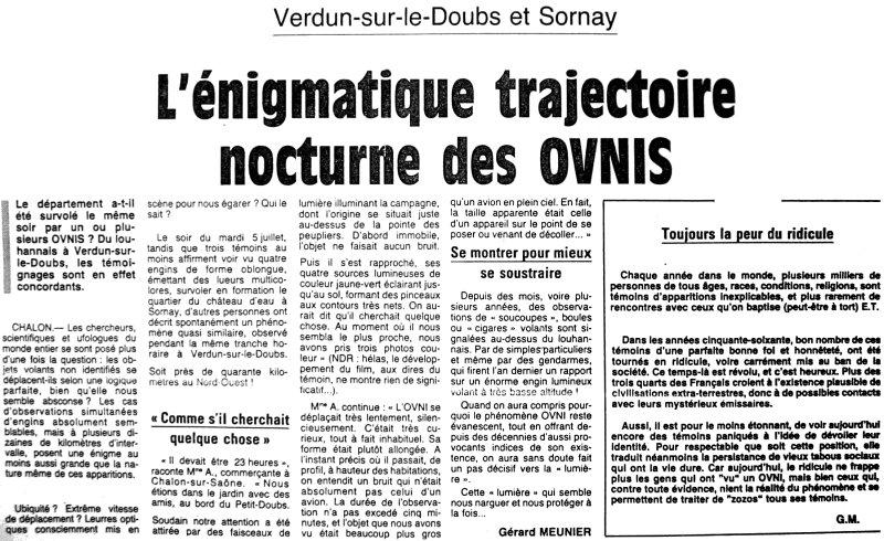 ovni les ovnis vus de pr232s la presse ovnis en france 1994