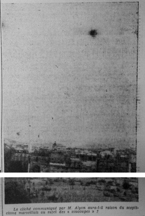Ovni les ovnis vus de pr s france 1954 9 ao t marseille bouches du rh ne - Le provencal journal ...