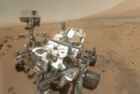 Curioisty rover on Mars